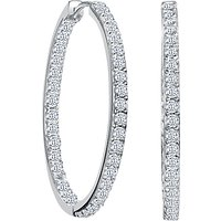 shop for Jools by Jenny Brown Medium Narrow Hoop Earrings at Shopo
