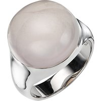 A B Davis Sterling Silver Semi Precious Bubble Stone Ring