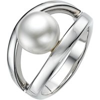 A B Davis Sterling Silver White Pearl Oyster Ring, N