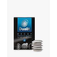 Dualit 15140 Smooth Decaf ESE Pods, Pack of 14