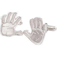 FingerPrint Jewellery Handprint Cufflinks