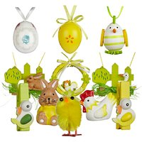 John Lewis Assorted Easter Decorations, Set Of 34