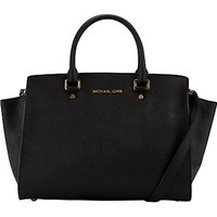 MICHAEL Michael Kors Selma Leather Satchel Bag
