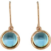 shop for London Road 9ct Rose Gold Pimlico Bubble Drop Earrings at Shopo