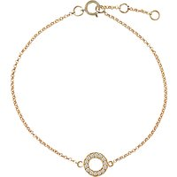shop for London Road Meridian Diamond Circle 9ct Gold Bracelet at Shopo