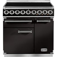 Falcon 900 Deluxe Induction Hob Range Cooker, Black