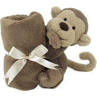 Jellycat Bashful Monkey Baby Soother Soft Toy