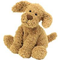 Jellycat Fuddlewuddle Puppy Soft Toy, Medium, Toffee