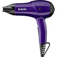 BaByliss Nano Travel Hair Dryer 1200, Purple