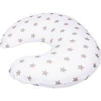 Widgey Feeding Nursing & Pregnancy Pillow Cover, Silver Star