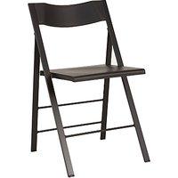 John Lewis Pocket Folding Chair, Black