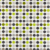 John Lewis Great Spot PVC Tablecloth Fabric, Lime