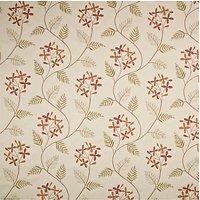John Lewis Leaf Sprig Furnishing Fabric, Red