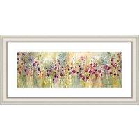 Catherine Stephenson - Spring Floral Panel Framed Print, 55.5 x 110.5cm