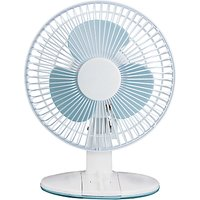 NSA'UK DF-2331 White Desk Fan, 9 Inch