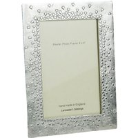 Lancaster and Gibbings 'Floating Hearts' Pewter Photo Frame, 4 x 6 (10 x 15cm)