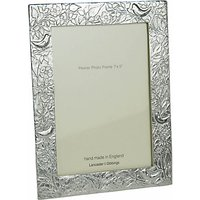 Lancaster and Gibbings Pewter Birds Photo Frame, 5 x 7 (13 x 18cm)