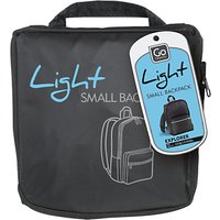 Go Travel Foldaway Light Backpack, Grey