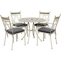LG Outdoor Marrakech 4-Seater Outdoor Dining Set