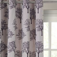 John Lewis Oakley Trees Eyelet Lined Curtains