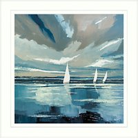 Stuart Roy - Blue Horizon 1 Framed Print, 62 x 62cm