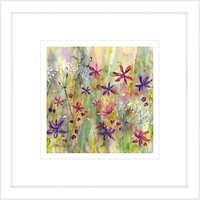 Catherine Stephenson - Summertime Meadow 2 Framed Print, 44 x 44cm