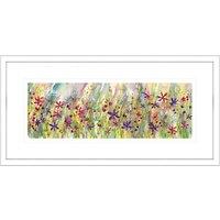 Catherine Stephenson - Summertime Meadow Framed Print, 55 x 110cm