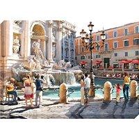 Richard Macneil - Trevi Fountain Print on Canvas, 70 x 100cm