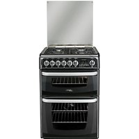 Hotpoint Cannon CH60DHKFS Dual Fuel Cooker, Black