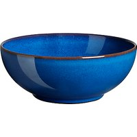 Denby Imperial Blue Coupe Cereal Bowl, Dia.16.5cm