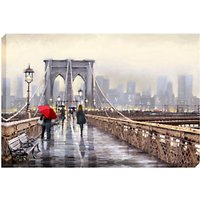 Richard Macneil - Brooklyn Bridge Print on Canvas, 70 x 100cm