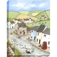 Janice Mcgloine - Countryside Pub Print on Canvas, 80 x 60cm