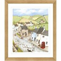 Janice Mcgloine - Countryside Pub Framed Print, 57 x 66cm