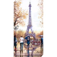 Richard Macneil - Eiffel Tower Print on Canvas, 80 x 40cm