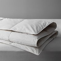 little home at John Lewis New Duck Feather and Down Duvet, Pillow and Mattress Protector Set
