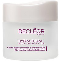 Declor Hydra Floral Multi Protection Activator Light Cream, 50ml