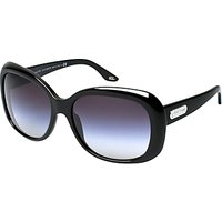 Ralph Lauren RL8087 Oversized Sunglasses, Shiny Black