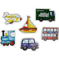 John Lewis My First Vehicles Puzzle