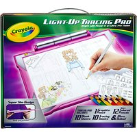 Crayola Light Up Tracing Pad, Pink