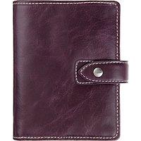 Filofax Malden Leather Pocket Organiser, Purple