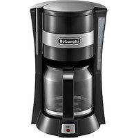 DeLonghi ICM15210 Filter Coffee Maker, Black