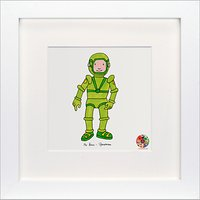 David Mckee - Mr Benn Spaceman Framed Print, 23 x 23cm