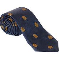 Colfe's School Sixth Form Boys' Tie, Navy Blue/Gold