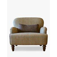 Tetrad Harris Tweed Lewis Armchair, Bracken / Tan