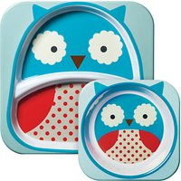 Skip Hop Melamine Dinner Set, Owl