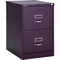 Bisley 2 Drawer Filing Cabinet