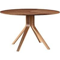 John Lewis Radar 6 Seater Round Dining Table, Walnut