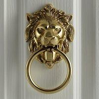 John Lewis Lions Head Door Knocker, L14 x W10.5cm