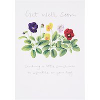Woodmansterne Get Well Greeting Card