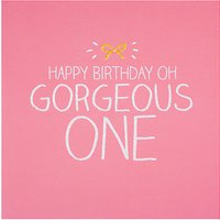 Happy Jackson Gorgeous One Birthday Card